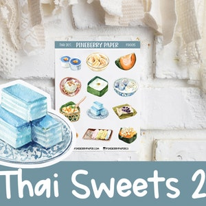 20 MAKO-CHAN Cheat day  Food  Meal planner stickers for Planners Kikkik Filofax Happy Planners Scrapbook Erin Condren