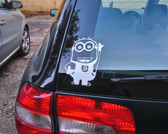 Choice of Colors Sticker Car Decal Laptop Funny Decal Crazy House Casa Loco