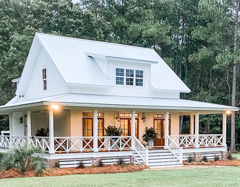 Cottage House Plan Variation 1  cottonbluecottage image 0