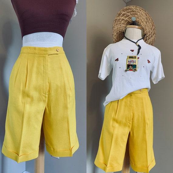 Vintage Mustard shorts