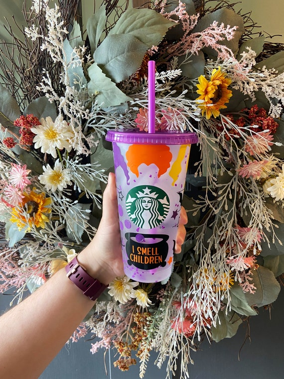 Hocus Pocus Starbucks Cup  Fall Cup  Halloween Cups  Hocus