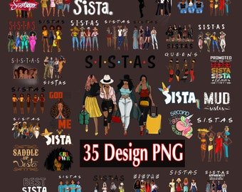 Black Sistas Png, Black History Month Pride, Black queen png, Melanin Girls, We are there for each other Png.