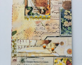 Autumn Journal, Fall Journal, Junk Journal, Fall Traveller's Notebook
