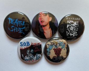 Poison Idea 1.25 pinback button punk rock pin