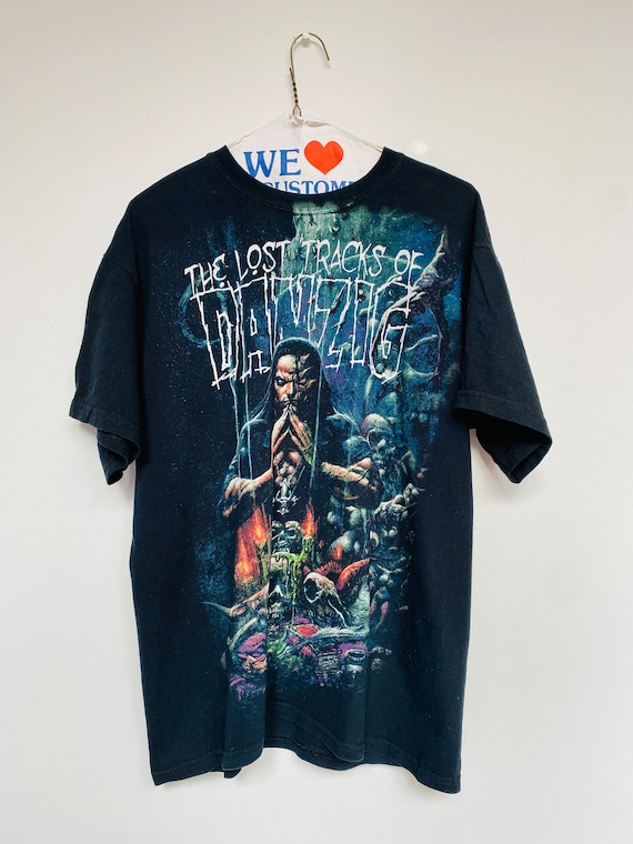 Vtg Danzig T-Shirt/Black/SzMedium/Misfits/bandshir