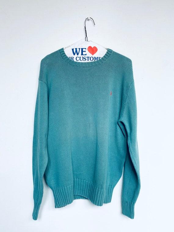 Vtg Ralph Lauren Sweater/Polo/Sz Large/90s/Polo Sw