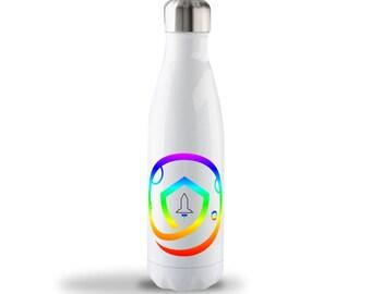 17oz SAFEMOON Stainless Steel Bottle - Rainbow Logo