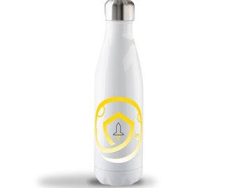 17oz SAFEMOON Stainless Steel Bottle - Gold Logo