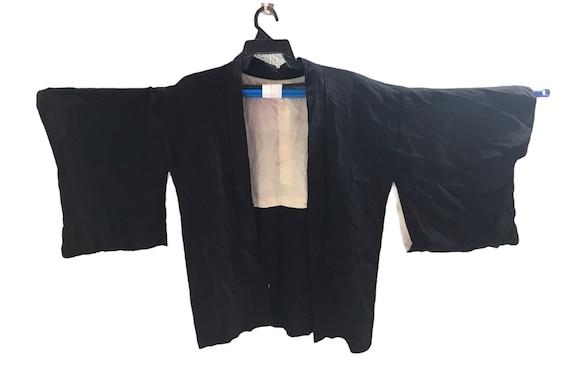 FREE SHIPPING Everywhere Vintage Noragi Kimono Haori Hanten Jinbei Japanese Cardigan Happi Jacket B954 asanoha
