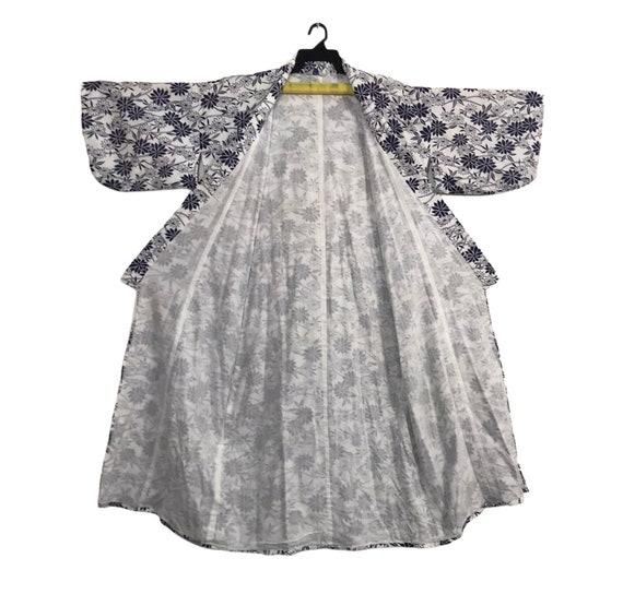 FREE SHIPPING Everywhere Vintage Noragi Kimono  Haori Hanten Jinbei Japanese  Cardigan Happi Jacket B861 Black