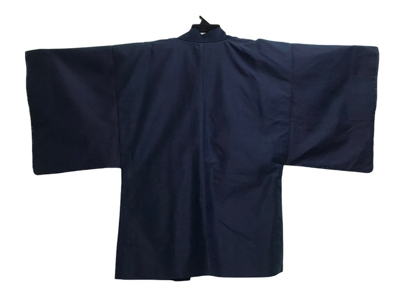 FREE SHIPPING Everywhere Vintage Noragi Kimono Hanten Jinbei Japanese  Haori  Happi Jacket Tomesode Pattern B1028