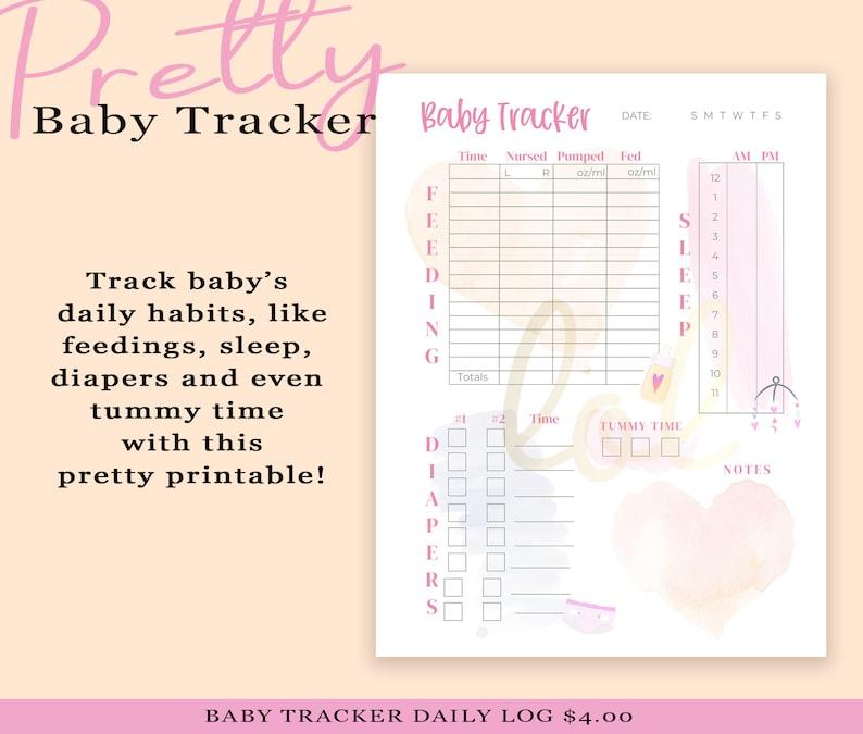 Baby Tracker  Baby Log  Baby Daily Habits Log  Baby Tracker image 0