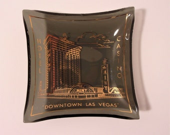 Vintage Miniature Mint Hotel Casino Advertising Ashtray