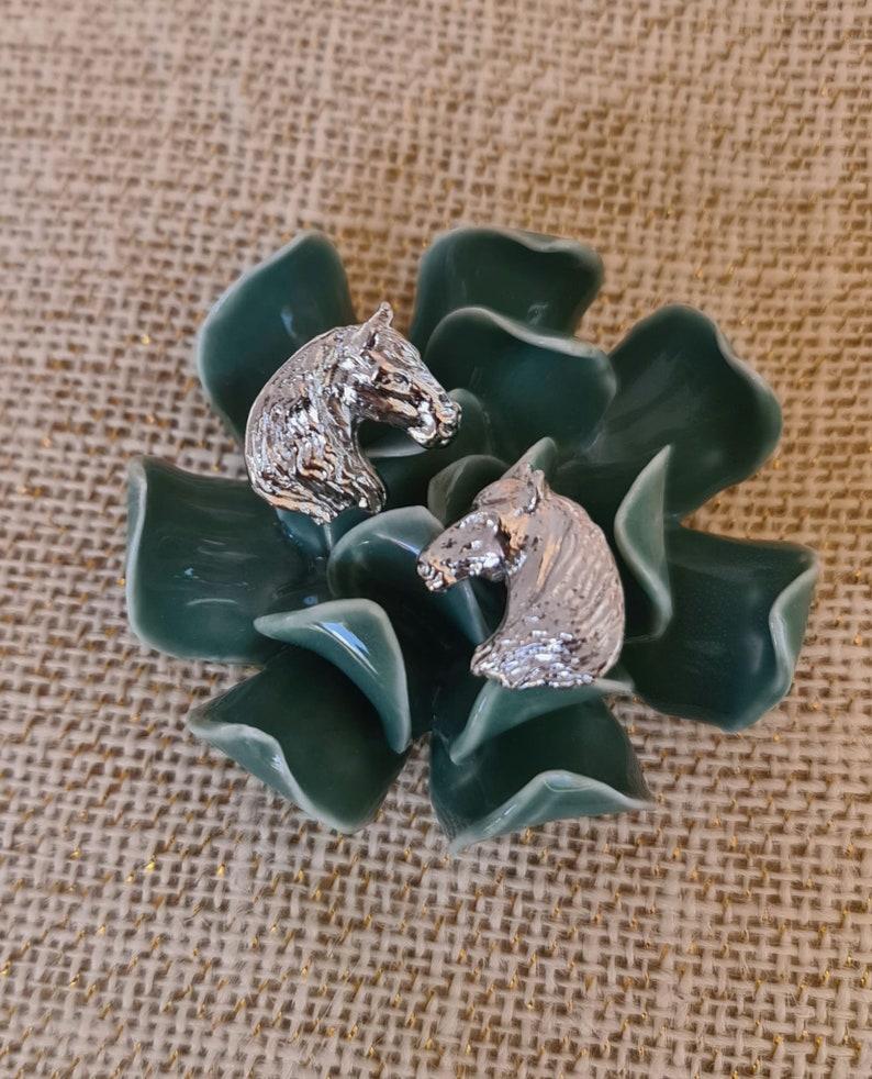 women earrings horse earrings equestrian lovers gift Earrings Spanish horse earrings