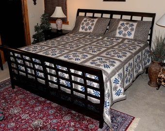 Medalions King Quilt and Shams
