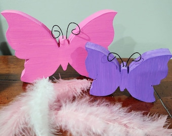 Wood Butterfly Etsy