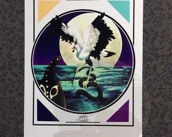 Art Print - The Heroless Battle