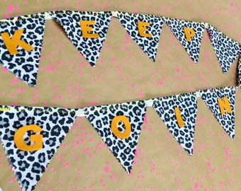 Never Stop Dreaming Banner Made to Order. Party Decor Motivation Quotes Background Cardstock Banner