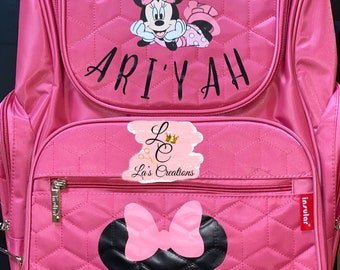 Minnie Mouse Diaper Backpack & Seat Cover