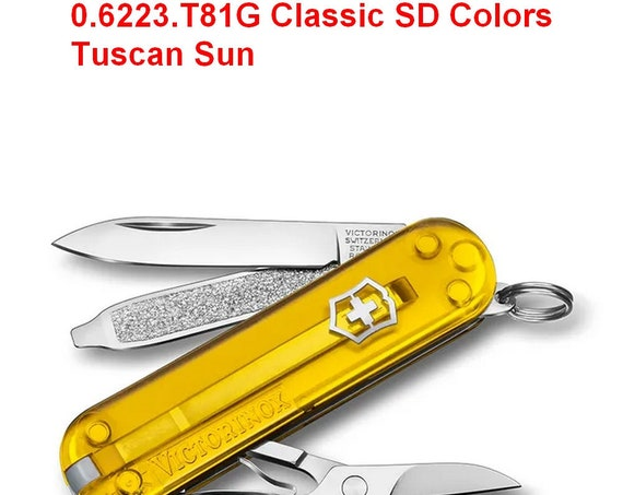 Swiss Knife VICTORINOX 0.6223.T81G Classic SD Colors Tuscan Sun