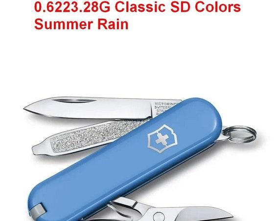 Swiss Knife VICTORINOX 0.6223.28G Classic SD Colors Summer Rain