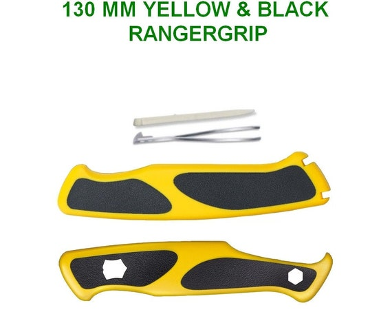 Swiss Knife VICTORINOX 130 mm SCALES RANGERGRIP Yellow & Black for Swiss Army Knife