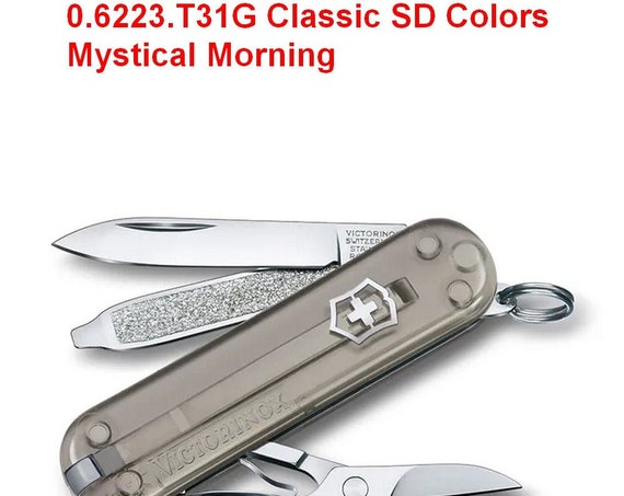 Swiss Knife VICTORINOX 0.6223.T31G Classic SD Colors Mystical Morning