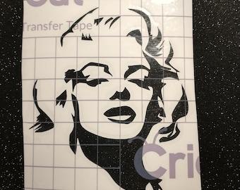 Marilyn Monroe Decal