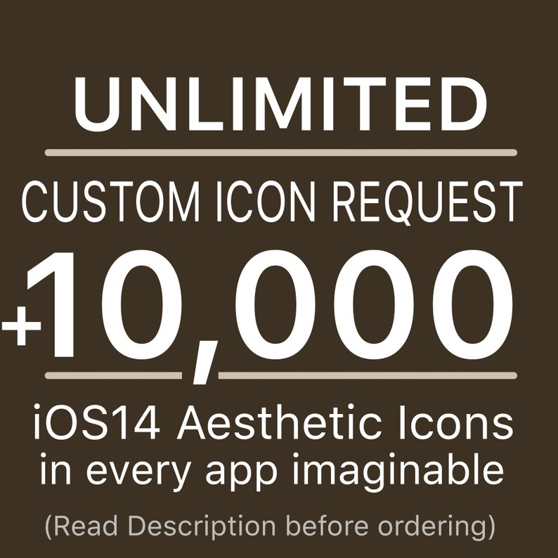 Unlimited Request iOS Custom Icon  Plus All Access Pack  image 0