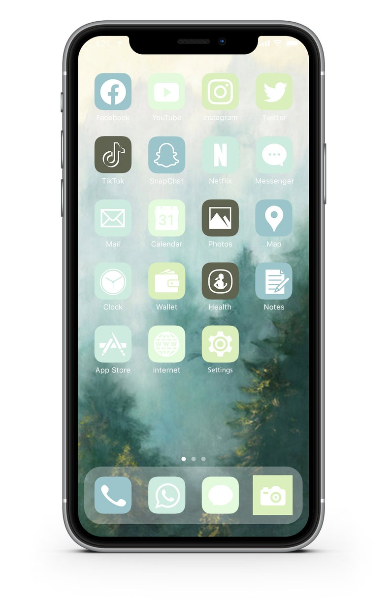 iOS Icon Lifetime All Access Pack  Forest iPhone IOS14 App image 0