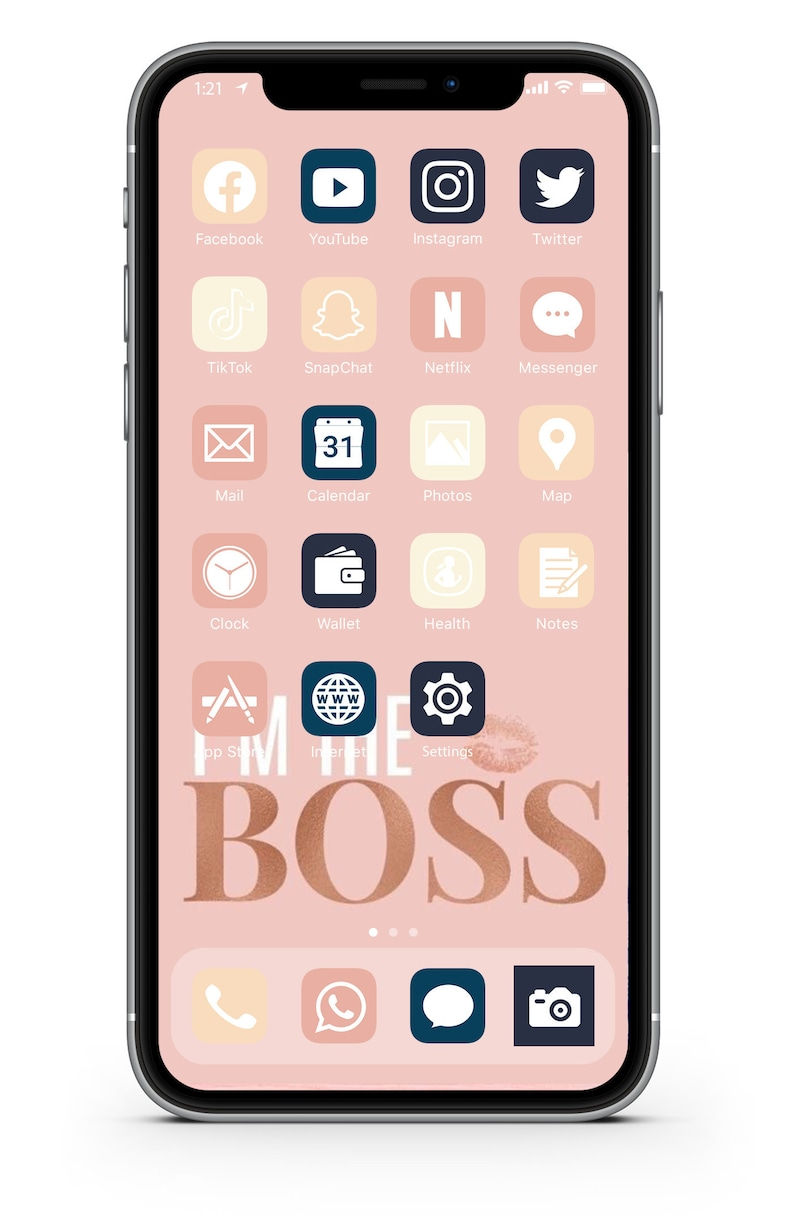 iOS Icon Lifetime All Access Pack  Boss Girl Chic iPhone image 0