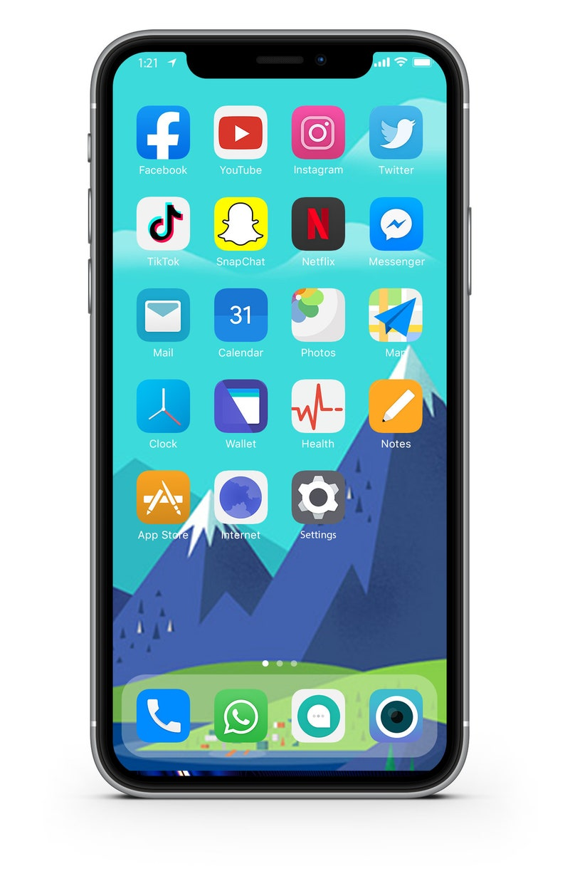 iOS Icon Lifetime All Access Pack  Aesthetic iOS 14 icons  image 0