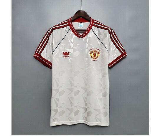 91 manchester united vintage jersey shirt vintage
