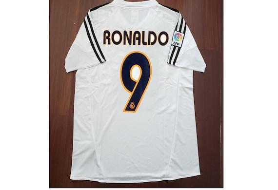 ronaldo real madrid vintage jersey shirt vintage s