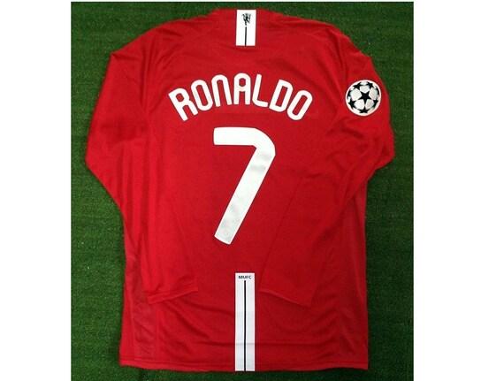 ronaldo manchester united vintage jersey shirt vin