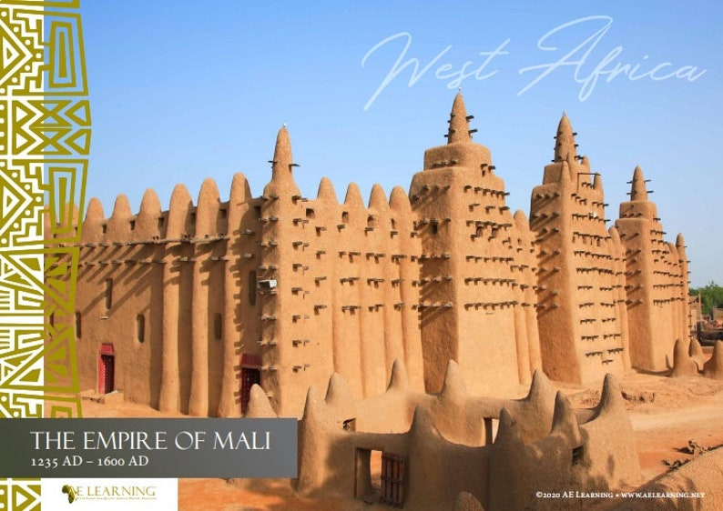The Mali Empire Poster  African History  Black History  image 0