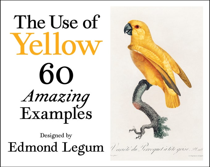 The Use of Yellow