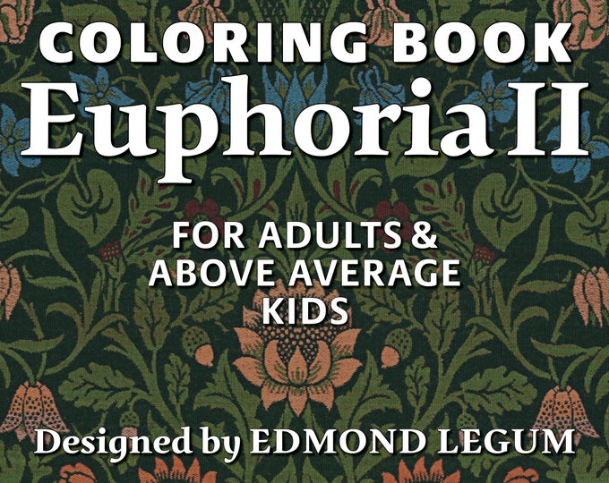 Coloring Book Euphoria II