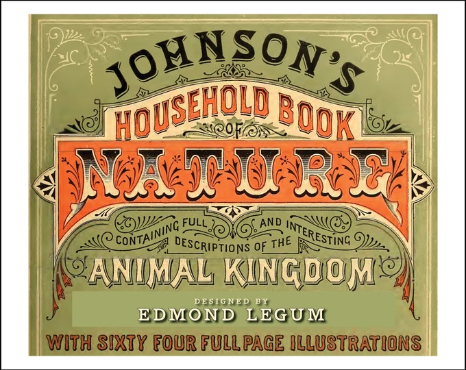 Johnson's Household Book of Nature