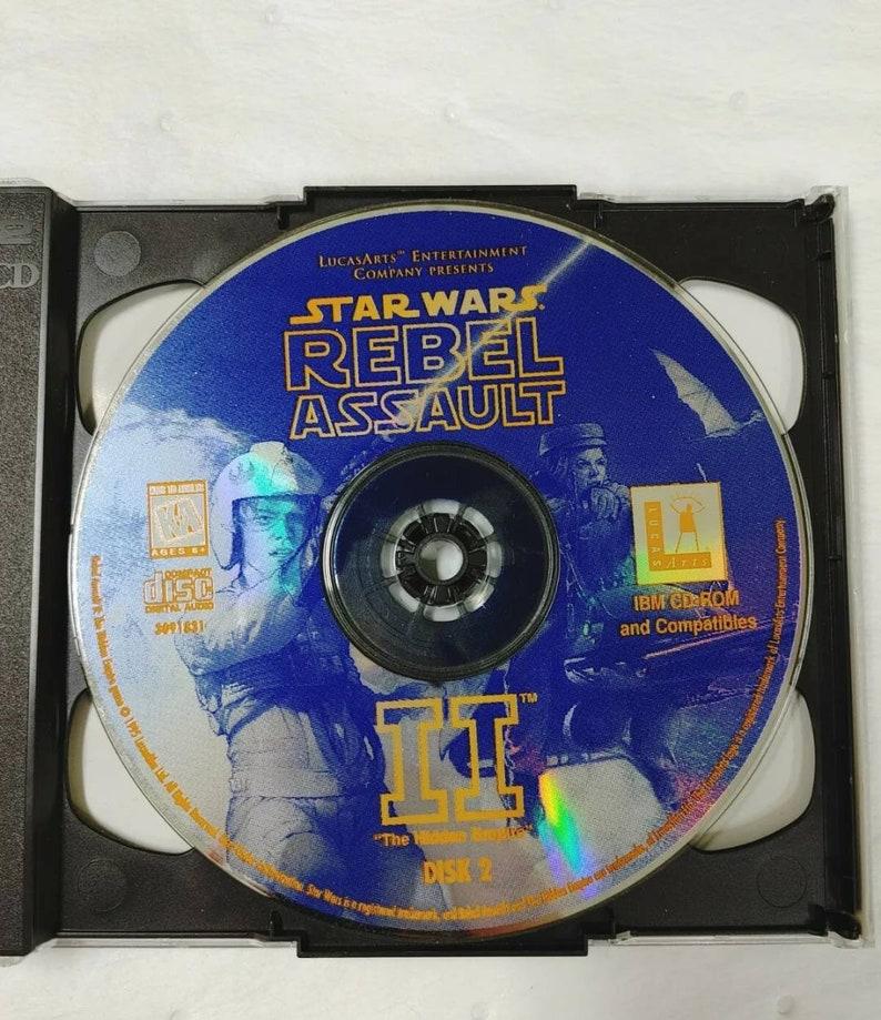 Star Wars Rebel Assault II 2  PC Game LucasArts 1995 Complete CIB