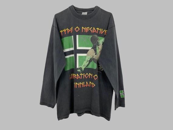 TYPE O NEGATIVE 1996 Vintage Longsleeve Liberation