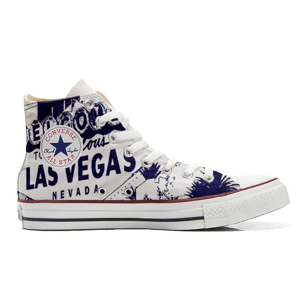 Sneakers Converse All Star Hi Custom Las Vegas Nevada   Etsy
