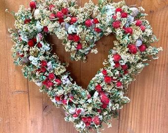 Sweet Heart Wreath, Wedding Backdrop