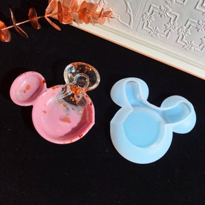 Creepy Twins Shaker Silicone Resin Mold Crafting Casting Horror Movie Palette Charms Chibi Scary Halloween Cute Kawaii