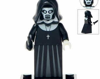 NUN CONJURING MOVIE HORROR MINIFIGURE FIGURE USA SELLER NEW FITS LEGO