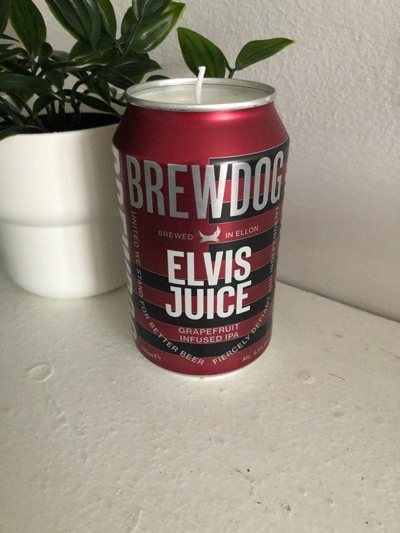Elvis Juice Bottle Candle Brewdog