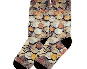 FTF Dynasty Money sleeve custom made socks