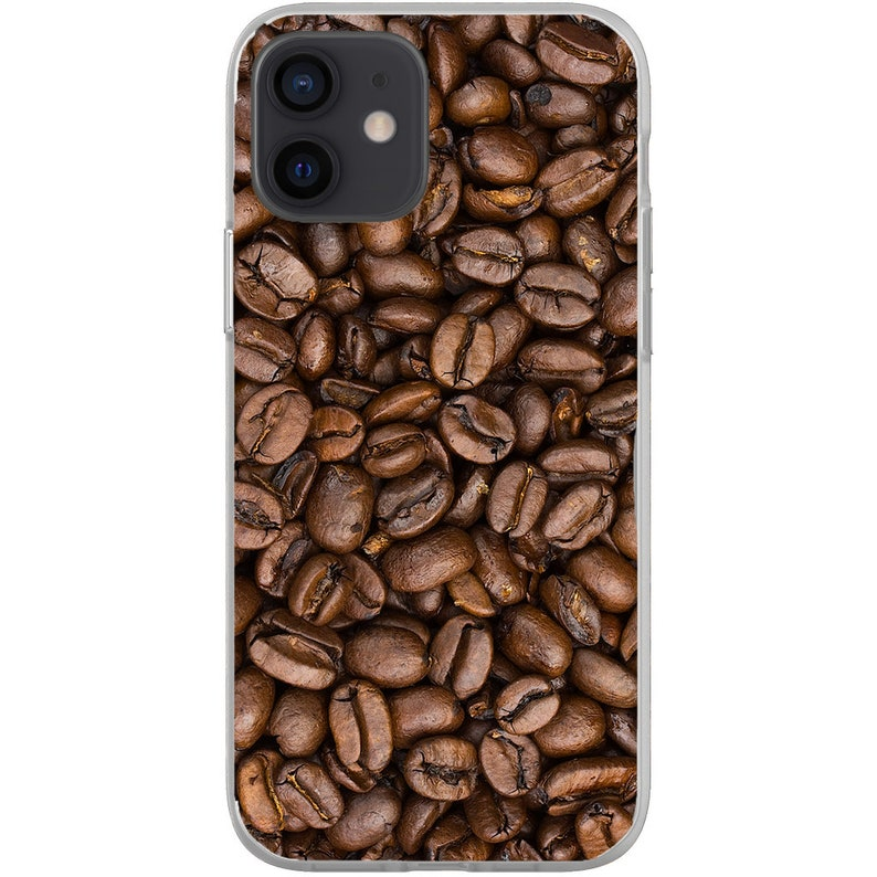Coffee Beans Flexi Case for iPhone