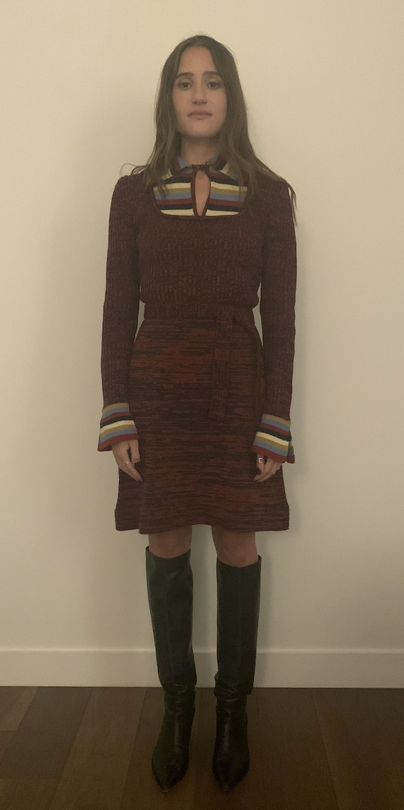 70's Sweater Dress