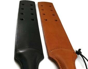 Prison Strap - Spanking Paddle - Leather Spanking Paddle - BDSM Paddle - Spanking Implements